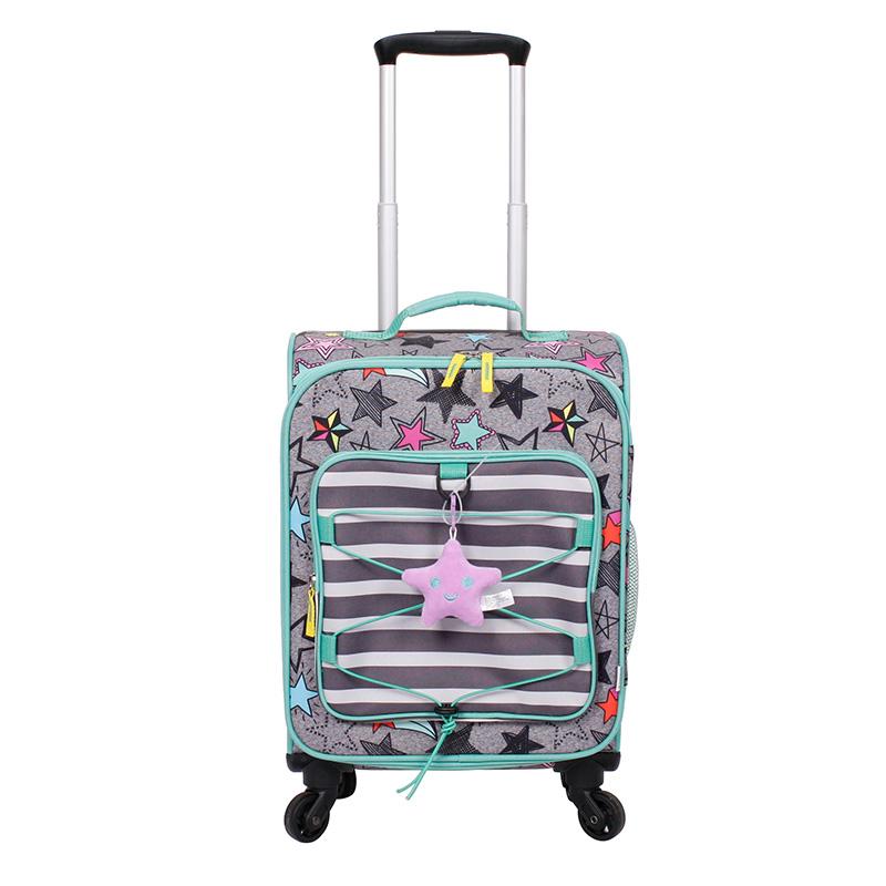 CRCKT 可爱星星印刷拉杆箱儿童旅行箱